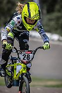2018 UCI BMX Supercross<br /> Round 8 Santiago Del Estero (Argentina)<br /> #28 (DOUDOUX Mathilde) FRA