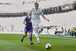 March 16, 2019 - Madrid, Madrid, Spain - Real Madrid's Gareth Bale and Real Club Celta de Vigo's Sofiane Boufal seen in action during La Liga match between Real Madrid and Real Club Celta de Vigo at Santiago Bernabeu Stadium in Madrid, Spain. (Credit Image: © Legan P. Mace/SOPA Images via ZUMA Wire)