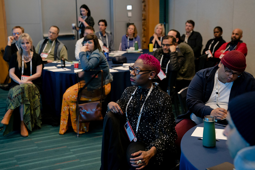 Google's Workshop: Celebrate Your Acheivements at TED2019: Bigger Than Us. April 15 - 19, 2019, Vancouver, BC, Canada. Photo: Bret Hartman / TED