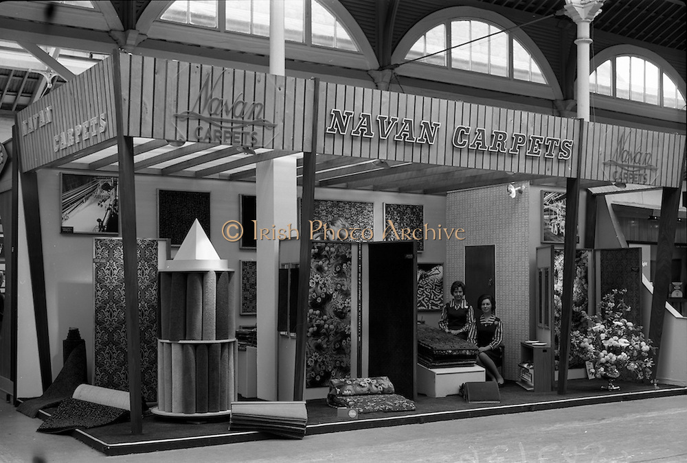 06/05/1965<br /> 05/06/1965<br /> 06 May 1965<br /> The Naran Carpets stand at the Spring Show on May 6, 1965.