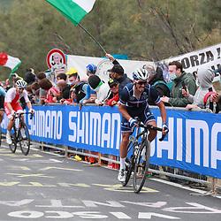 27-09-2020: wielrennen: WK weg mannen: Imola<br /> Julian Alaphillipe attacked on the final climb