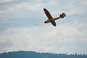 1951 GRUNAU BABY IIB flying at WAAAM.