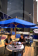 Harrisburg, PA, City Midtown Outdoor Plaza Business Lunch