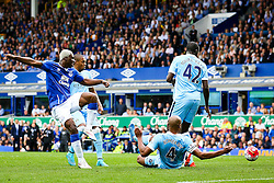 Everton's Arouna Kone fires a shot at goal  - Mandatory byline: Matt McNulty/JMP - 07966386802 - 23/08/2015 - FOOTBALL - Goodison Park -Everton,England - Everton v Manchester City - Barclays Premier League