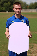 *** during the AFC Wimbledon 2018/19 official photocall at the Kings Sports Ground, New Malden, United Kingdom on 31 July 2018. Picture by Matthew Redman.
