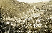 1938 Cahuenga Pass, Gateway to Hollywood postcard