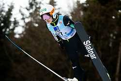 Sara Takanashi of Japan competes during Team Competition at Day 2 of World Cup Ski Jumping Ladies Ljubno 2019, on February 9, 2019 in Ljubno ob Savinji, Slovenia. Photo by Matic Ritonja / Sportida