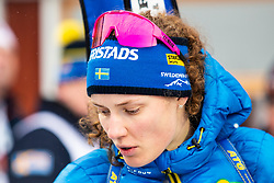 March 16, 2019 - –Stersund, Sweden - 190316 Hanna Öberg of Sweden looks dejected after Women's 4x6 km Relay during the IBU World Championships Biathlon on March 16, 2019 in Östersund..Photo: Johan Axelsson / BILDBYRÃ…N / Cop 245 (Credit Image: © Johan Axelsson/Bildbyran via ZUMA Press)