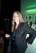 PAULINE DALY, The Surreal House Barbican art gallery afterwards SURREAL DINNER at Hoxton hall. London. 9 June 2010. -DO NOT ARCHIVE-© Copyright Photograph by Dafydd Jones. 248 Clapham Rd. London SW9 0PZ. Tel 0207 820 0771. www.dafjones.com.