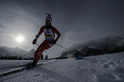February 8, 2019 - Calgary, Alberta, Canada - Burnotte Jules (CAN) is competing during Men's Relay of 7 BMW IBU World Cup Biathlon 2018-2019. Canmore, Canada, 08.02.2019 (Credit Image: © Russian Look via ZUMA Wire)