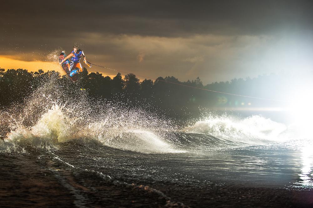 Adam Errigton shot for Tige Boats at Lake Ronix in Orlando, Florida.
