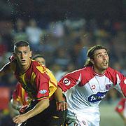 Turkish soccer...<br /> Turkish Soccer team Galatasaray between Sansunspor. Galatasaray's Umit Davala during their AliSamiYen Stadium in Istanbul/Turkey.<br /> Photo by Aykut AKICI/TurkSporFoto