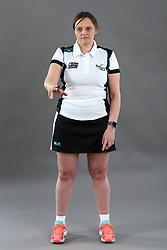 Umpire Rachael Radford signalling centre postitioned incorrectly