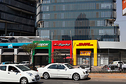 SOUTH AFRICA - Johannesburg Stock pictures.Pizza hut , DHL , Europe car .Pictures by Simphiwe Mbokazi/African News Agency/ANA