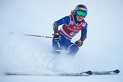Adriana Jelinkova (NED) during the Ladies' Giant Slalom at 57th Golden Fox event at Audi FIS Ski World Cup 2020/21, on January 16, 2021 in Podkoren, Kranjska Gora, Slovenia. Photo by RHF/Vid Ponikvar
