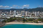 Ala Moana Beach Park, Honolulu, Oahu