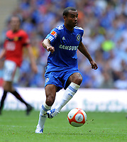 Ashley Cole<br /> Chelsea 2009/10<br /> Chelsea V Manchester United (2-2) 09/08/09<br /> Chelsea Win On Penalties (4-1) Durin Penalty Shootout<br /> The FA Community Shield 2009 Wembley Stadium<br /> Photo Robin Parker Fotosports International