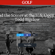 My work for Sports Illustrated at the US Open in University Place, Washington was featured in a continuously updated online gallery.