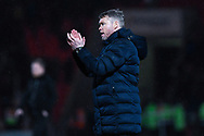 Grant McCann of Doncaster Rovers (Manager) after the The FA Cup fourth round match between Doncaster Rovers and Oldham Athletic at the Keepmoat Stadium, Doncaster, England on 26 January 2019.
