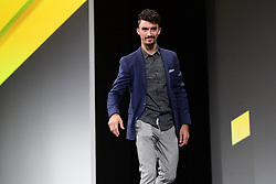 October 25, 2018 - Paris, France - ALAPHILIPPE Julian (FRA)  of Quick - Step Floors pictured during the presentation of the 2019 Tour de France at the Palais des Congres (Credit Image: © Panoramic via ZUMA Press)