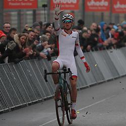 26-12-2019: Wielrennen: Wereldbeker veldrijden: Zolder <br />Thibaut Nys wint de wereldbekerwedstrijd voor junioren