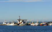 Ships at the quay in Punta Arenas. Punta Arenas, Chile. 15Feb13