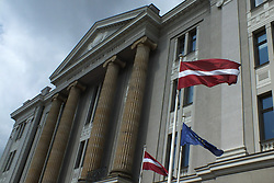 May 25, 2019 - Riga, Latvia, Latvia - Latvia, Riga, Ministry of foreign Affairs (Credit Image: © Russian Look via ZUMA Wire)