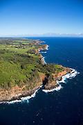 Akoakoa Point, Pololu, North Kohala, Big Island of Hawaii