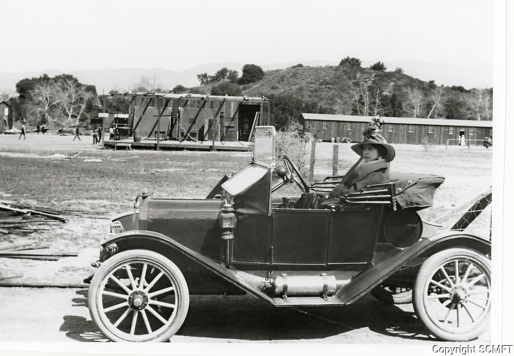 1913 Thanhouser's Studios rented studio facilities at what is now Universal Studios in the San Fernando Valley of California