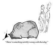 """(""""...and his dog."""") """"There's something terribly wrong with that dog."""""""