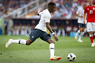 Ousmane Dembele of France during the 2018 FIFA World Cup Russia, Group C football match between Denmark and France on June 26, 2018 at Luzhniki Stadium in Moscow, Russia - Photo Thiago Bernardes / FramePhoto / ProSportsImages / DPPI