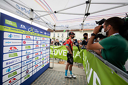 Matej MOHORIC of BAHRAIN VICTORIOUS during 2nd Stage of 27th Tour of Slovenia 2021 cycling race between Zalec and Celje (147 km), on June 10, 2021 in Slovenia. Photo by Vid Ponikvar / Sportida