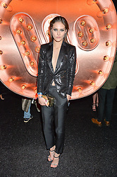 CHARLOTTE WIGGINS at the Warner Music Group & Ciroc Vodka Brit Awards After Party held at The Freemason's Hall, 60 Great Queen St, London on 24th February 2016.