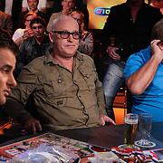 NLD/Scheveningen/20120604 - 1e uitzending VI Oranje met Wilfred Genee en Johan Derksen, Rene van der Gijp en Jan Boskamp
