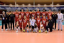 07-06-2014 NED: WLV Nederland - Portugal, Almere<br /> Een moeizame overwinning op Portugal levert Nederland twee punten op / Teamfoto Portugal