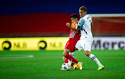 Victor Mudrac of Moldova vs Jure Balkovec of Slovenia during the UEFA Nations League C Group 3 match between Slovenia and Moldova at Stadion Stozice, on September 6th, 2020. Photo by Vid Ponikvar / Sportida