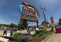 Bike Week 2015 Lakeside Avenue Weirs Beach, NH.  Karen Bobotas for the Laconia Daily Sun
