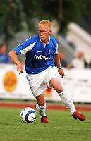 Fotball, treningskamp, Egersund, <br /> Birmingham City FC - EIK, (2-0),<br />  Mikael Forssell,<br /> Foto: Sigbjørn Andreas Hofsmo, Digitalsport