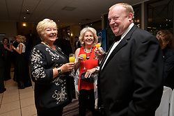 CARDIFF, WALES - Wednesday, June 1, 2016: Guests during a charity send-off gala dinner at the Vale Resort Hotel ahead of the UEFA Euro 2016. (Pic by David Rawcliffe/Propaganda)