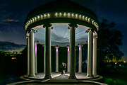 The Popp Bandstand in City Park in New Orleans was built in 1917. It was designed to be a replica of the Temple of Love in Versailles. ©Kathy Anderson