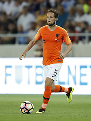 Daley Blind of Holland during  the International friendly match between Slovakia and The Netherlands at Stadium Antona Malatinskeho on May 31, 2018 in Trnava, Slovakia