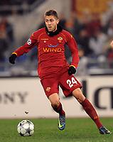 """Jeremy Menez (Roma)<br /> Roma 9/12/2008 Stadio """"Olimpico"""" <br /> Champions League 2008/2009 <br /> Roma Bordeaux (2-0)<br /> Foto Andrea Staccioli Insidefoto"""