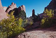 Early morning, Devils Garden, Arches National Park, Utah.