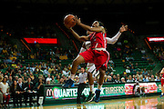 WACO, TX - DECEMBER 18: Valencia McFarland #3 of the Mississippi Lady Rebels drives to the basket against the Baylor Bears on December 18 at the Ferrell Center in Waco, Texas.  (Photo by Cooper Neill) *** Local Caption *** Valencia McFarland
