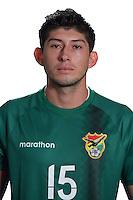 Football Conmebol_Concacaf - <br />Copa America Centenario Usa 2016 - <br />Bolivia National Team - Group D - <br />Pedro Jesus Azogue Rojas