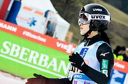 Nozomi Maruyama of Japan competes during Team Competition at Day 2 of World Cup Ski Jumping Ladies Ljubno 2019, on February 9, 2019 in Ljubno ob Savinji, Slovenia. Photo by Matic Ritonja / Sportida