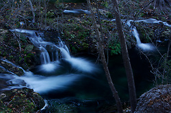 Stock photo of waterfalls in the Texas Hill Country