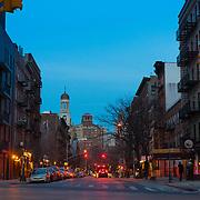 Greenwich Village Street Scene, New York