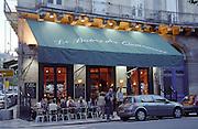 Le Bistrot des Quinconces cafe restaurant. Bordeaux city, Aquitaine, Gironde, France