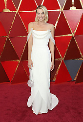 March 4, 2018 - Hollywood, CA, U.S. - 04 March 2018 - Hollywood, California - Margot Robbie. 90th Annual Academy Awards presented by the Academy of Motion Picture Arts and Sciences held at the Dolby Theatre. Photo Credit: AdMedia (Credit Image: © AdMedia via ZUMA Wire)